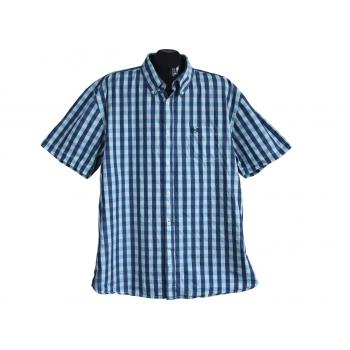 Рубашка мужская в клетку CASUAL WEAR & COMFORT FIT, XL