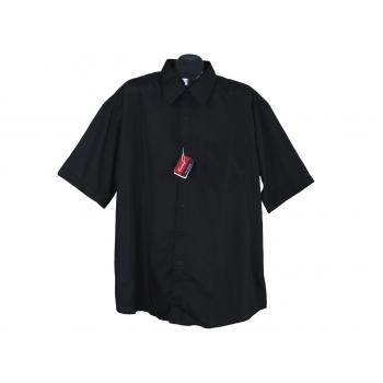 Рубашка мужская черная CENTURY, XXL
