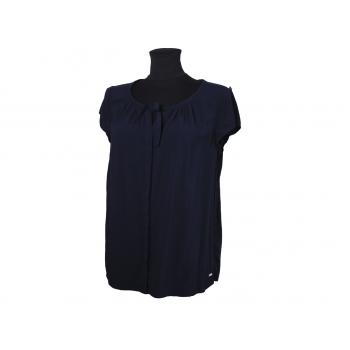 Блуза женская синяя TOMMY HILFIGER, M