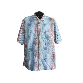 Рубашка мужская в цветную полоску SIGNUM REGULAR CUT, XL