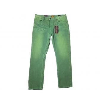 Джинсы зеленые мужские PETROL INDUSTRIES STRAIGHT FIT W 38 L 32