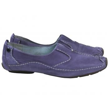 Мокасины женские кожаные сиреневые TAMARIS 39 размер