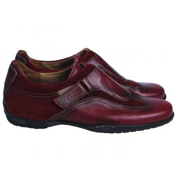 Женские кожаные бордовые туфли GABOR SPORT 39 размер