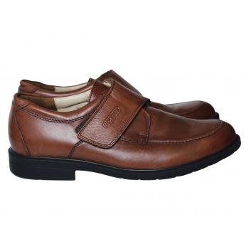 Туфли кожаные мужские коричневые SOLIDUS 43 размер