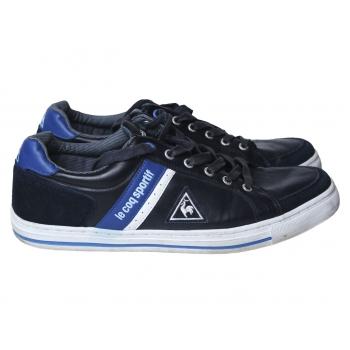 Кроссовки кожаные мужские синие LE COQ SPORTIF 44 размер