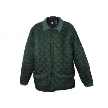 Куртка мужская утепленная зеленая DOGGHY, XXL
