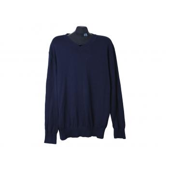 Пуловер хлопковый мужской синий BEXLEYS, XXL
