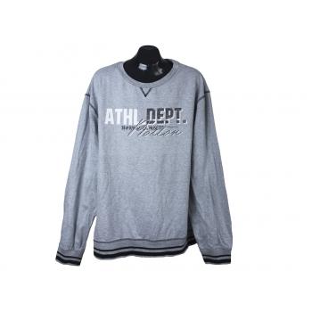 Свитшот мужской серый BPC ATHL DEPT, 3XL