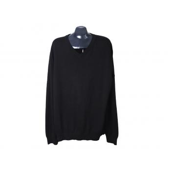 Пуловер мужской из хлопка черный ESPRIT, XL