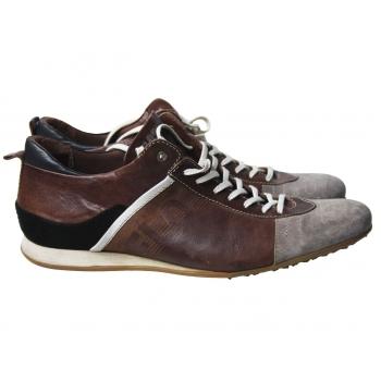 Кроссовки кожаные мужские FLORIS VAN BOMMEL 43 размер
