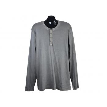 Лонгслив мужской серый MUSTANG, XL