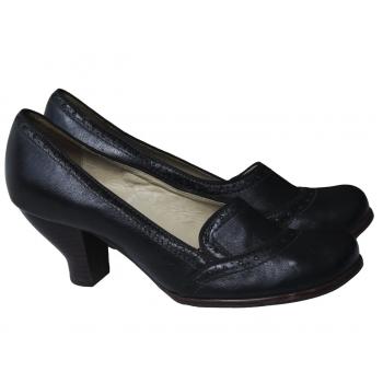 Туфли кожаные женские черные CLARKS 39 размер