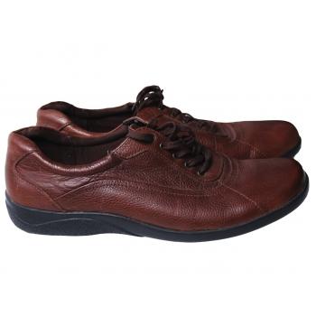 Туфли кожаные женские коричневые FOOTGLOVE 39 размер