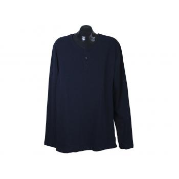 Реглан трикотажный мужской синий MUSTANG, XL