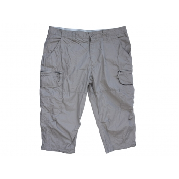 Бермуды карго бежевые мужские DRESSMANN W 38