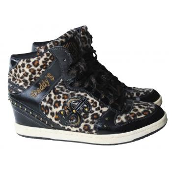 Сникерсы леопардовые женские DADDYS MONEY 40 размер