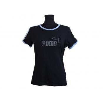 Футболка женская черная PUMA, S