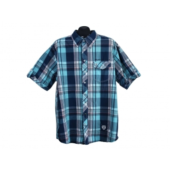 Рубашка мужская в клетку BASEFIELD, 3XL