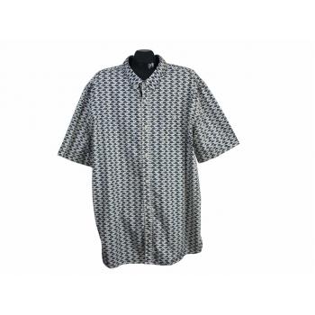Рубашка мужская с рыбками GEORGE, 4XL
