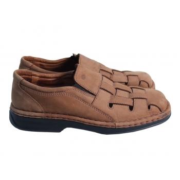 Туфли кожаные мужские коричневые JOSEF SEIBEL 42 размер