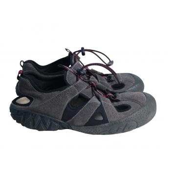 Треккинговые кожаные женские сандалии RICHTER 38 размер