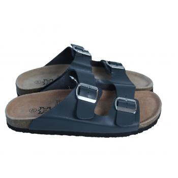 Мужские кожаные серые сандалии 42 размер