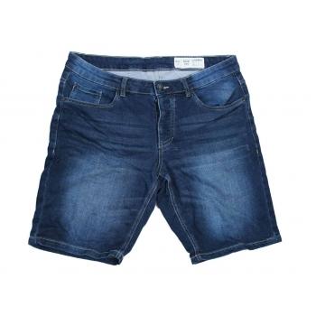 Шорты джинсовые мужские стрейч LIVERGY SLIM FIT W 34