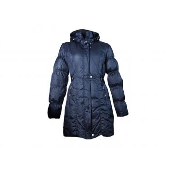 Пальто пуховое женское синее LUHTA, M
