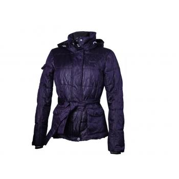 Куртка женская осень зима фиолетовая с капюшоном GAASTRA, S