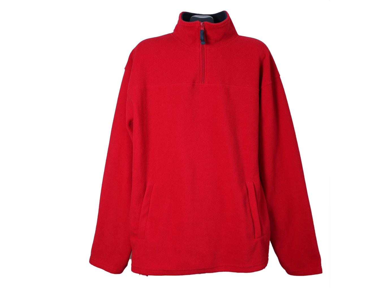 Кофта флисовая мужская красная CASUAL FASHION, XL