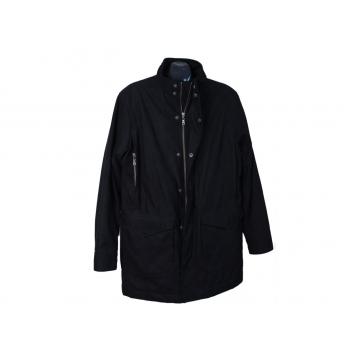 Куртка демисезонная мужская черная MELKA SWEDEN, L