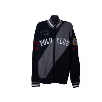 Кофта на молнии мужская THIRD REPUBLIC POLO CLUB, XL