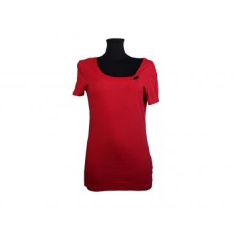 Красная женская футболка S.OLIVER, S