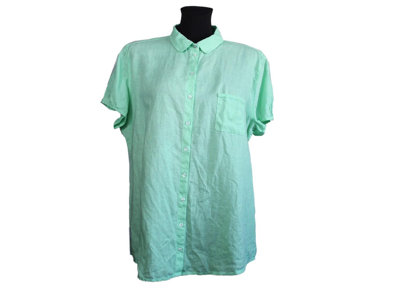 Блуза льняная женская салатовая MARC O.POLO, XL
