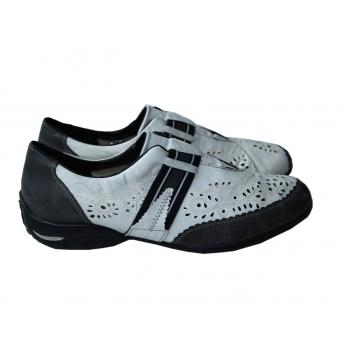 Туфли женские кожаные с перфорацией RIEKER 39 размер