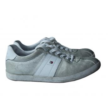 Туфли спортивные серебряные женские TOMMY HILFIGER 36 размер