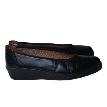 Туфли кожаные черные женские GABOR COMFORT 35 размер