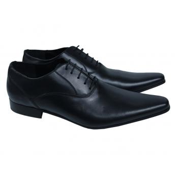 Мужские кожаные туфли ALAIN MANOUKIAN HOMME 44 размер