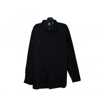 Рубашка мужская черная IDENTIC, 5XL