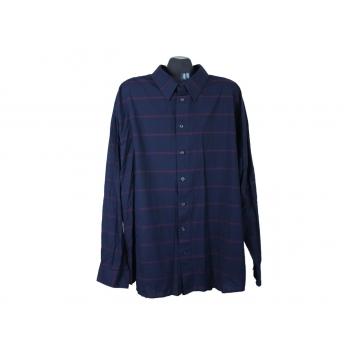 Рубашка мужская синяя CAMARQUE, 5XL