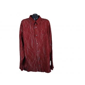 Рубашка мужская бордовая SIGNUM, 4XL