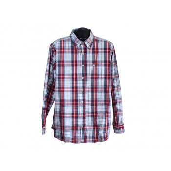 Рубашка мужская в клетку BASEFIELD, XL