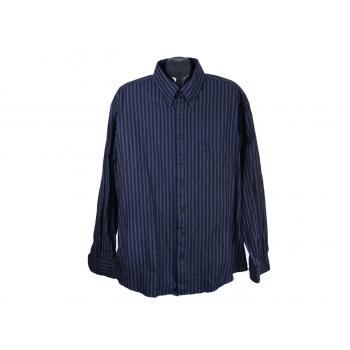 Рубашка мужская синяя в полоску CANDA, 3XL