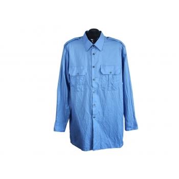 Рубашка мужская синяя METZGER, L