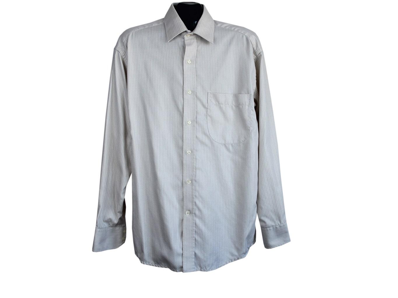 Мужская бежевая рубашка PACO RABANNE, L