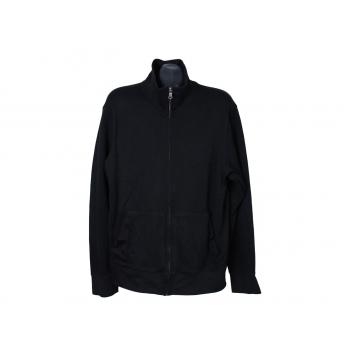 Кофта на молнии мужская черная BANANA REPUBLIC, XL