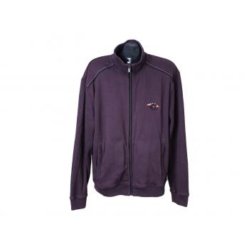 Кофта на молнии мужская фиолетовая ENGBERS, XL