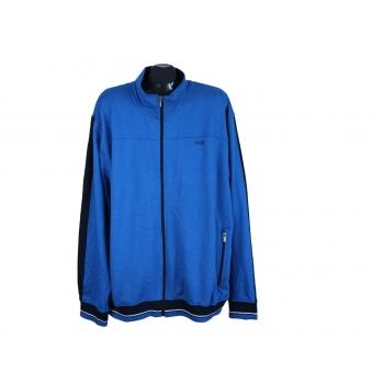 Толстовка на молнии мужская синяя MANGUUN SPORT, 3XL