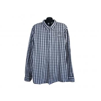 Рубашка в клетку мужская REGULAR FIT CAMP DAVID, 3XL