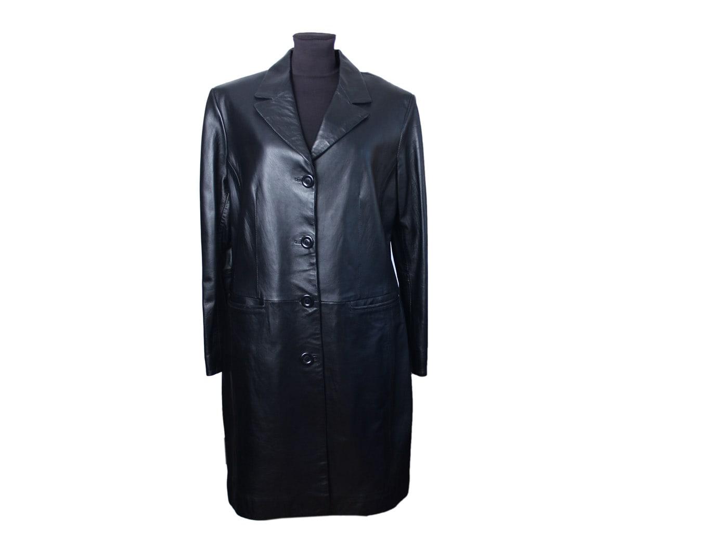 Пальто кожаное женское TOCCO EXCLUSIVE, XL